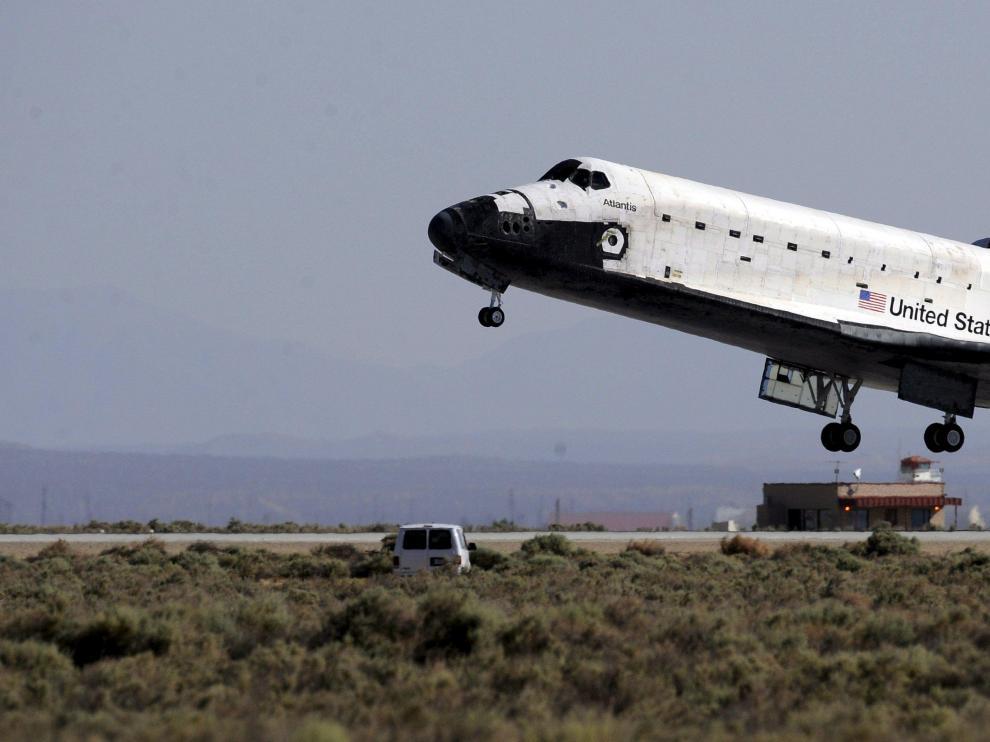 Imagen del aterrizaje