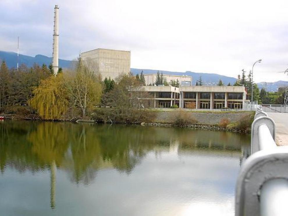 Central nuclear de Santa María de Garoña (Burgos).