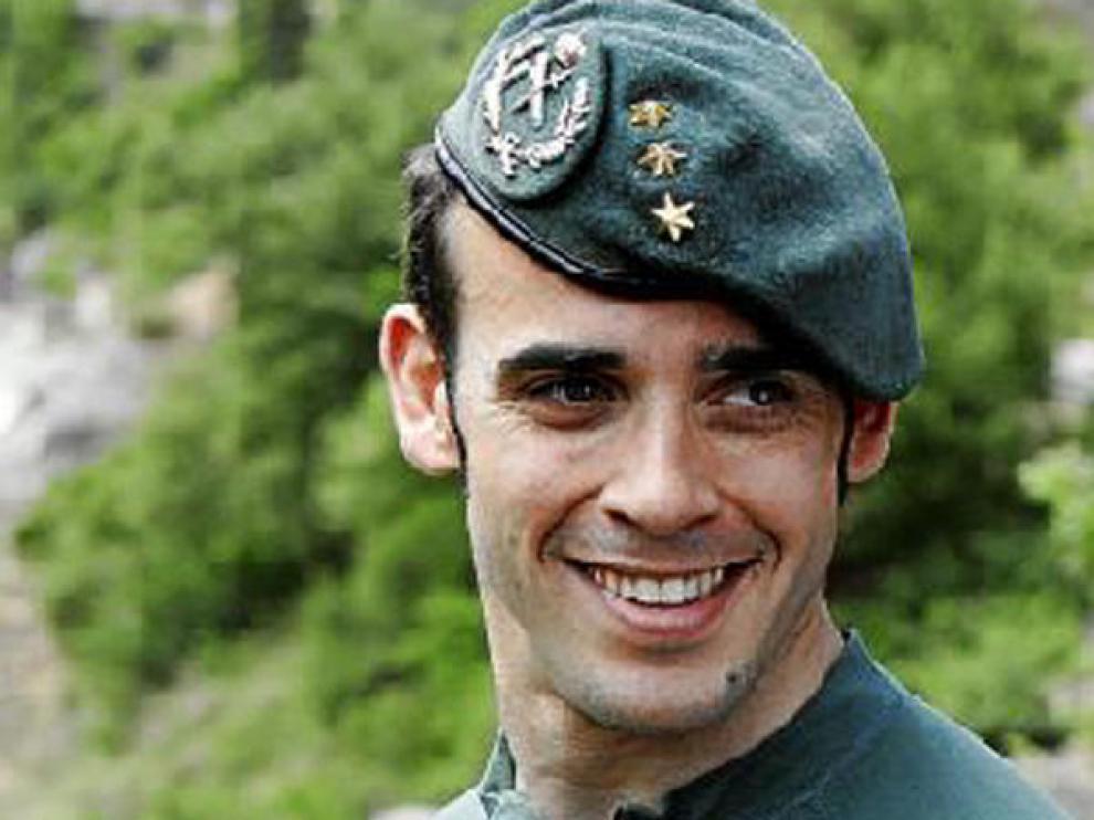 El capitán Pedro Garijo está al frente de los equipos de montaña.