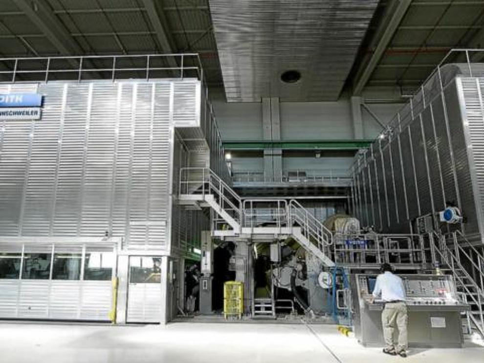 Instalaciones de la planta de Saica en El Burgo de Ebro.