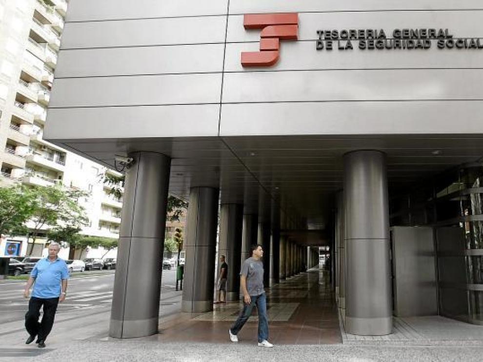 Sede de la Tesorería de la Seguridad Social, organismo involucrado en el observatorio contra el fraude.