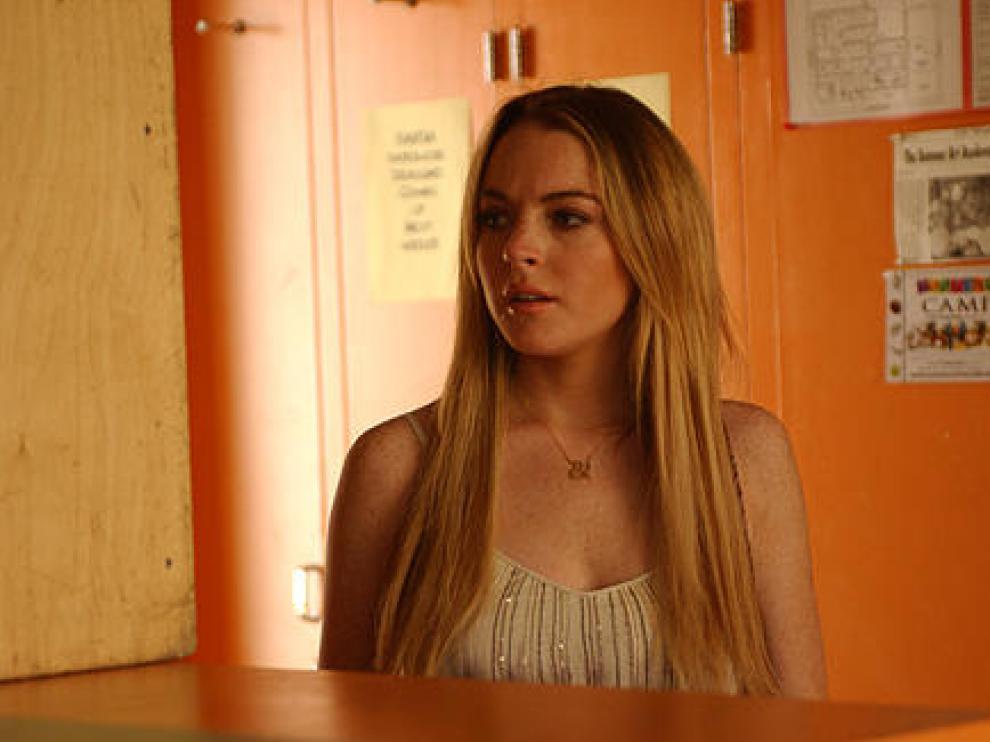 Lindsay Lohan, en 'Un trabajo embarazoso'