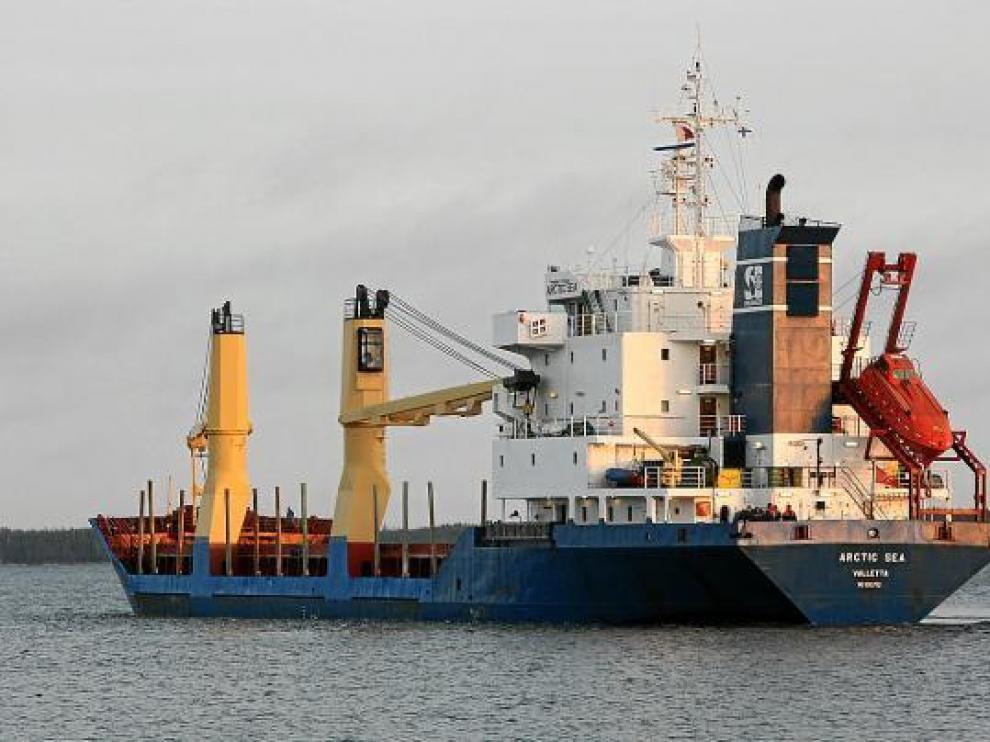 Imagen de archivo del carguero 'Arctic Sea'