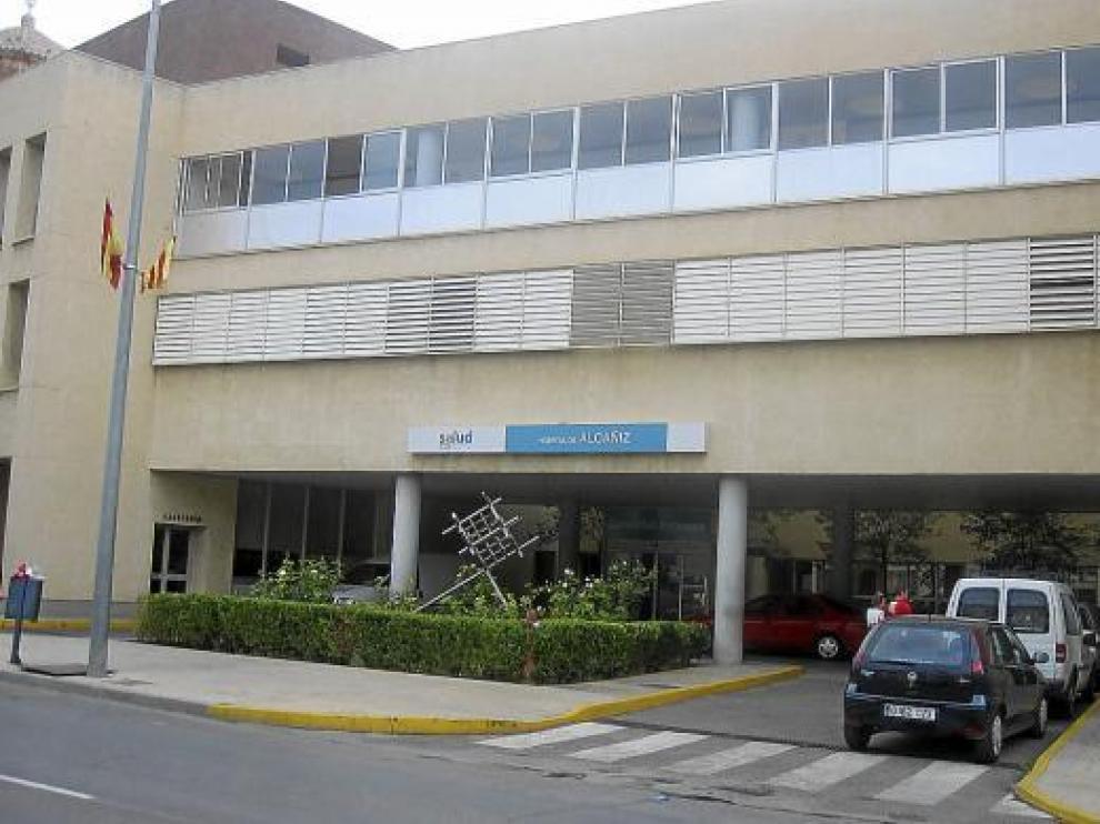 El Hospital Comarcal de Alcañiz atiende a una población de 70.000 personas, que se dispara en verano.