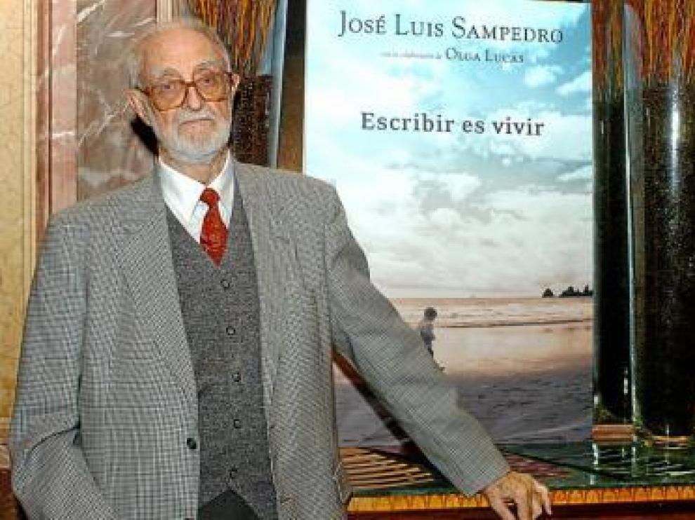 José Luis Sampedro, protagonista de los cursos de verano de Jaca.