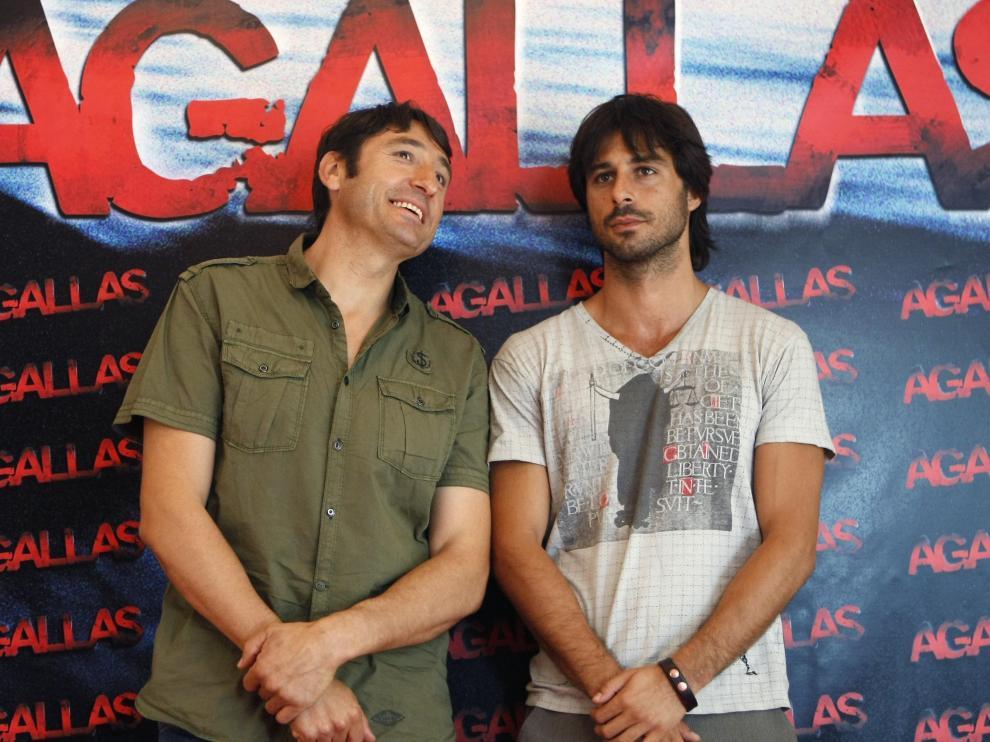 Hugo Silva (d) junto a Carmelo Gómez (i) protagoniza 'Agallas'