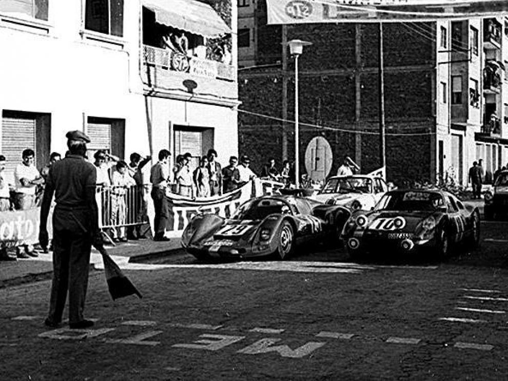 Una de las pruebas celebradas, en 1968