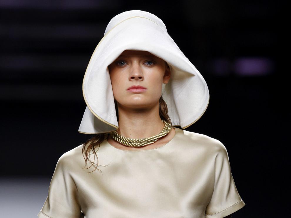 Uno de los modelos presentados por los hermanos Guillén