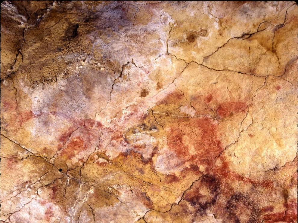 Una de las pinturas que 'chirriaban' con la antigua datación