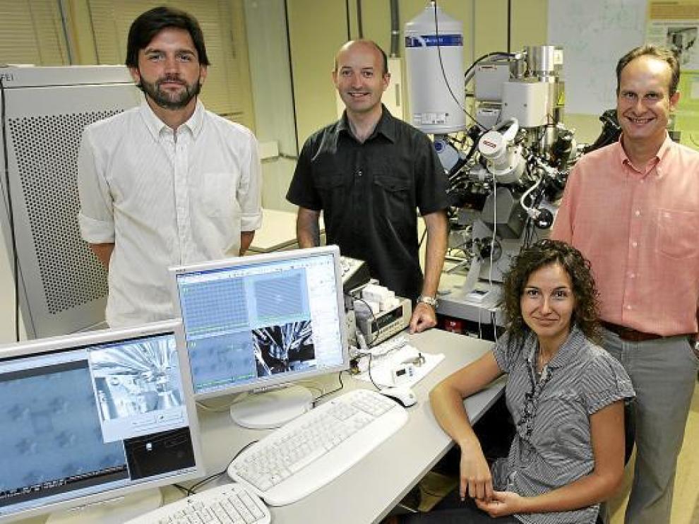 Los investigadores aragoneses contarán con el microscopio más preciso del mundo en octubre