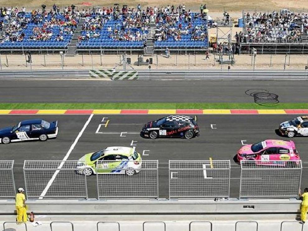 Una de las carreras disputadas en el Motorland