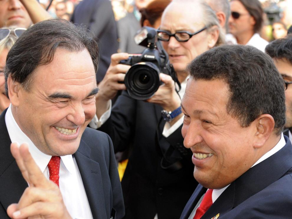 Chávez,en la alfombra roja