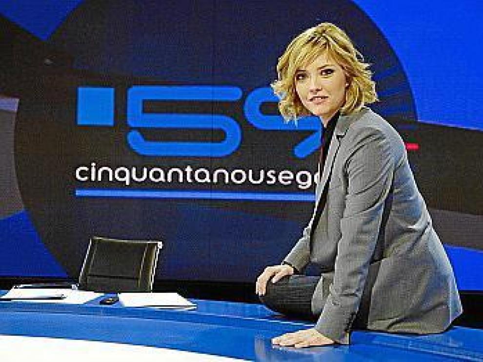 María Casado, la nueva conductora de '59 segundos'.