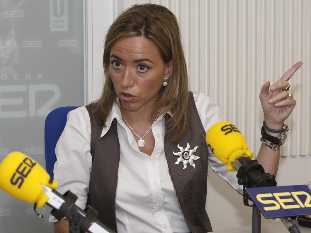 La ministra de Defensa en la entrevista