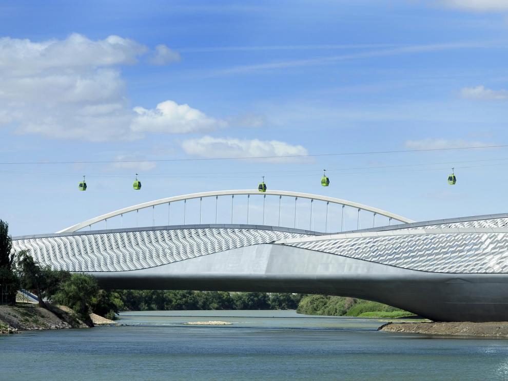El Pabellón Puente se abrirá y se iluminará para las fiestas del Pilar