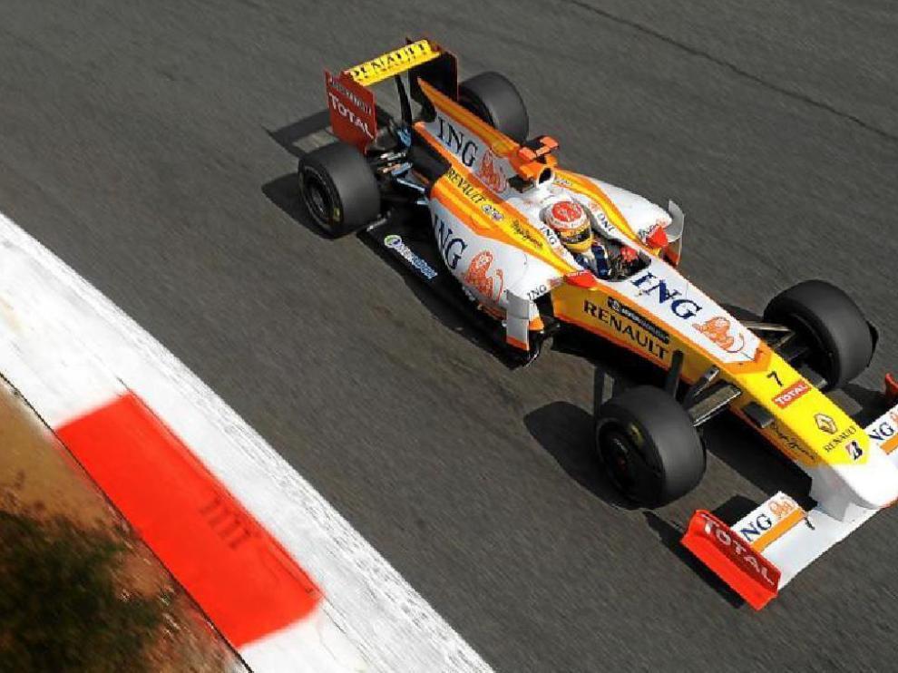 Fernando Alonso quedó octavo en los entrenamientos