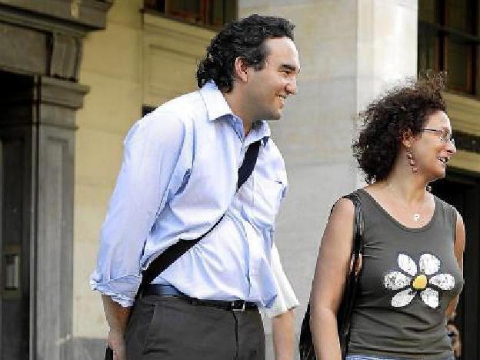 David Baringo (i), Marta Jiménez (ci), Juan Manuel Fernández (cd) y Julia Langa (d)