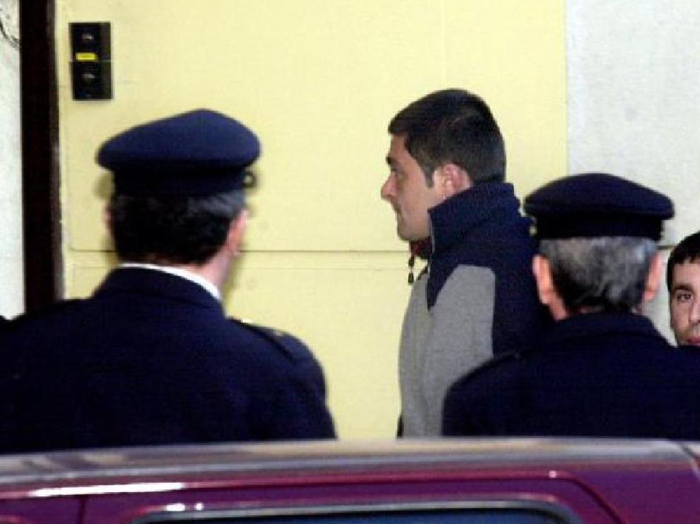 Llegada de Igor Martínez a la Audiencia Nacional en 2003 para ser juzgado por sus delitos