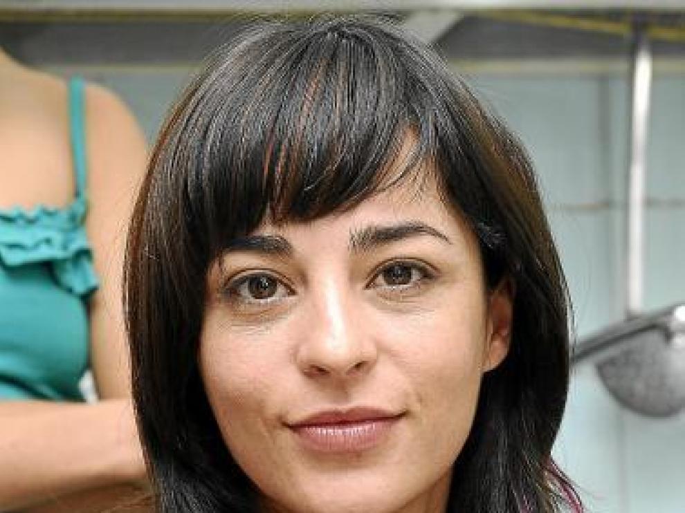 Natalia Moreno, caracterizada para 'El Gordo'.