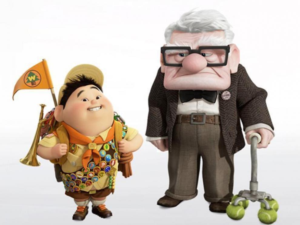 Los personajes más entrañables de la película.