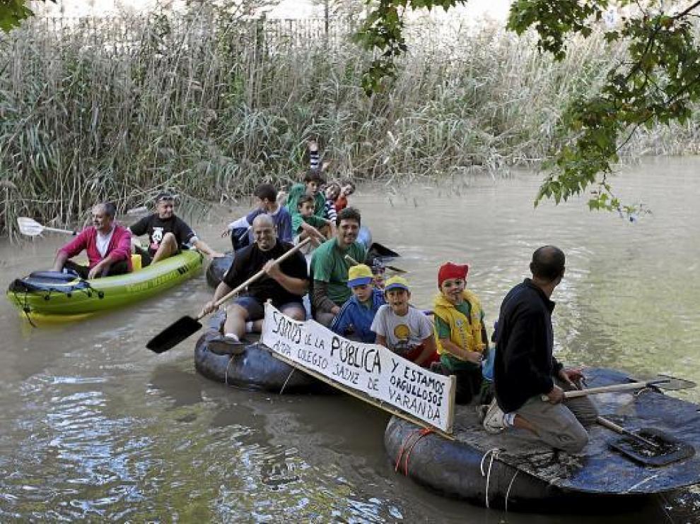 La bajada del Canal