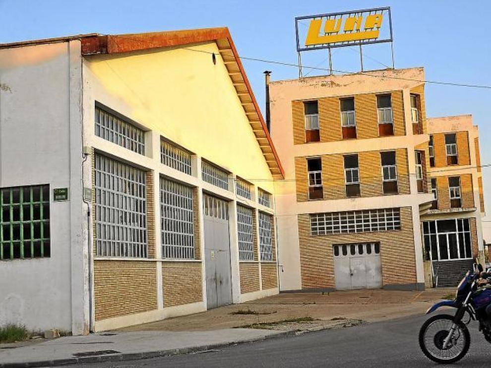 La actividad en la fábrica que Luna tiene Huesca está paralizada desde principios del mes de junio.