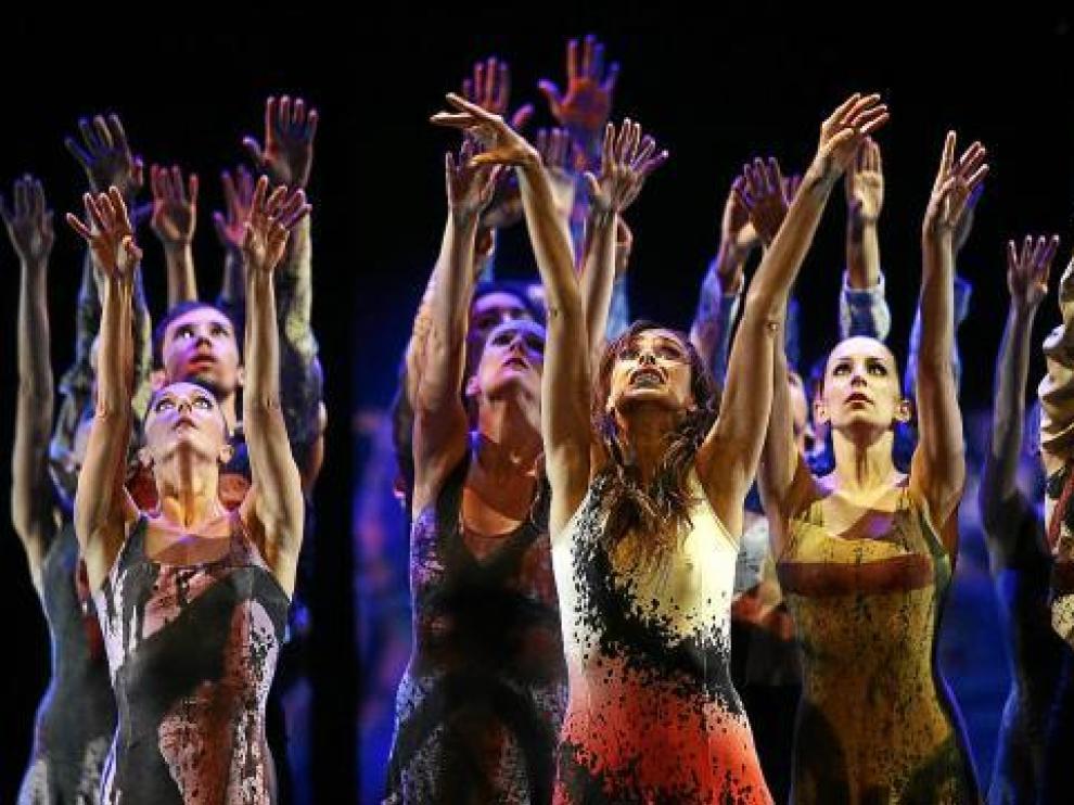 Instante del espectáculo '2 You Maestro', que Ullate presenta ahora en los Teatros del Canal.