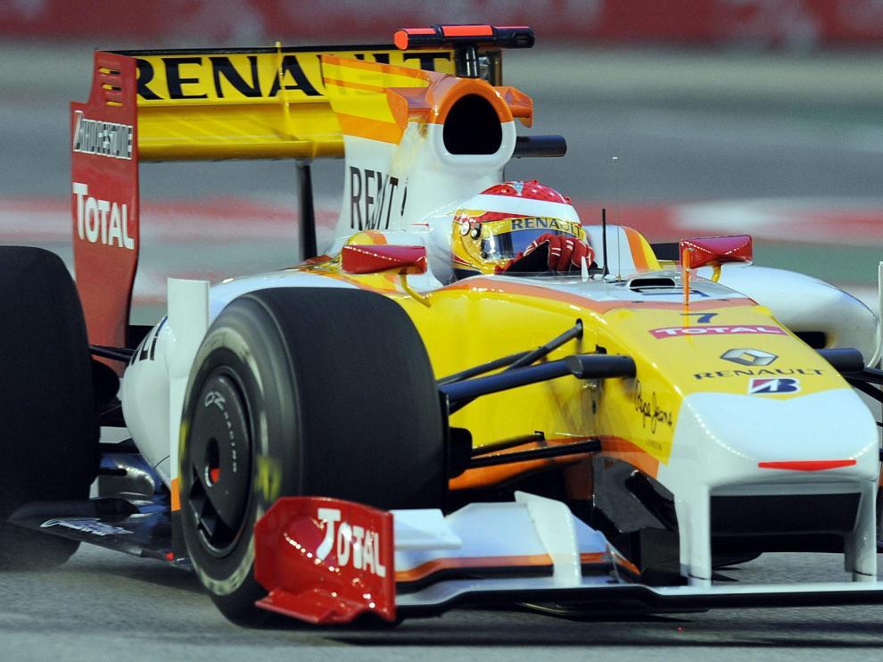 Fernando Alonso en Renault.