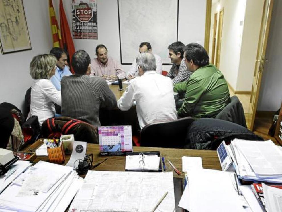 imagen de archivo de uan reunión de la permanente del comité de GM el pasado mes de febrero.
