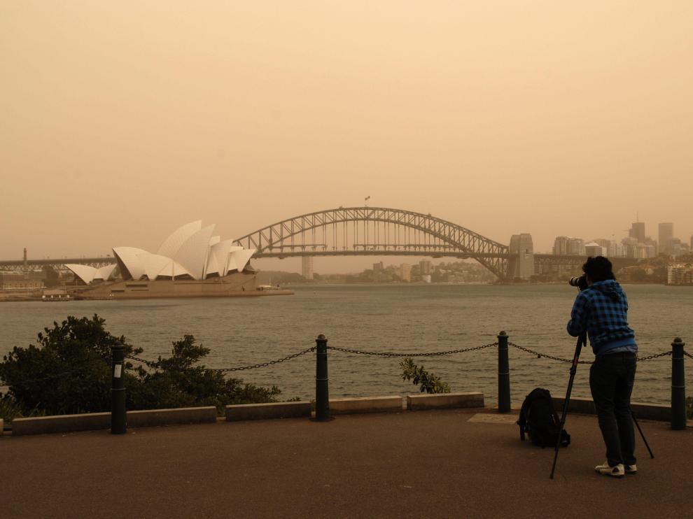 Sídney registra la segunda tormenta de arena en lo que va de semana