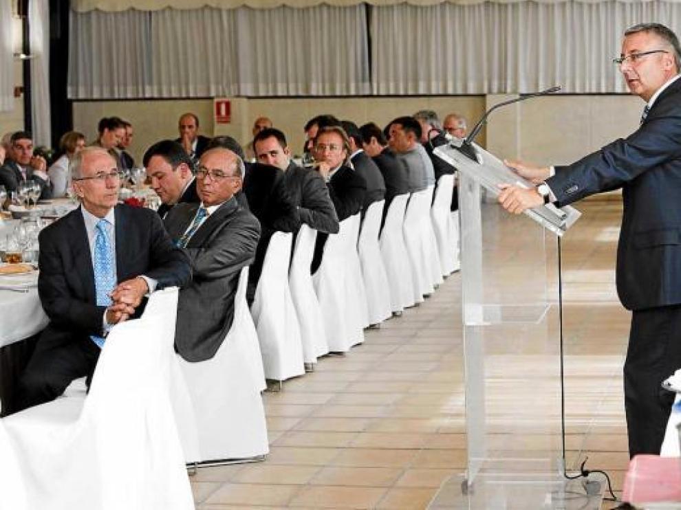 Blanco concretó su apuesta por el corredor Mediterráneo a los empresarios valencianos el pasado día 8.