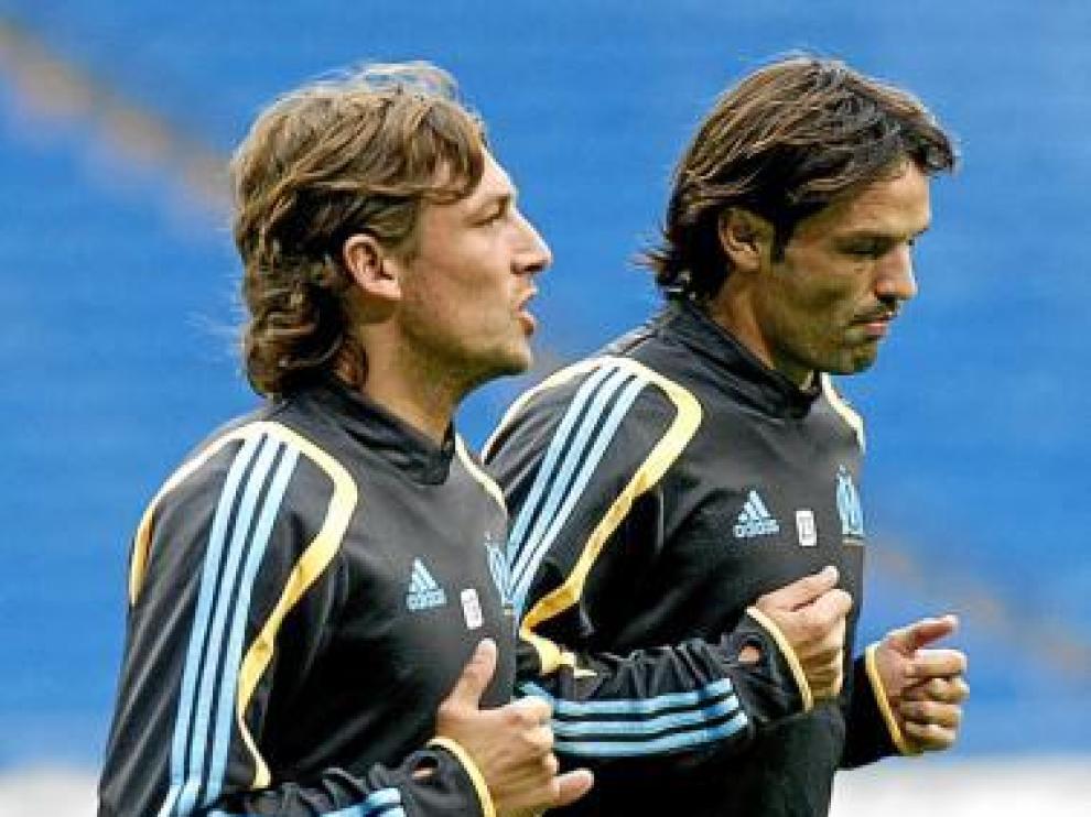 Heinze y Morientes vuelven hoy al Santiago Bernabéu.
