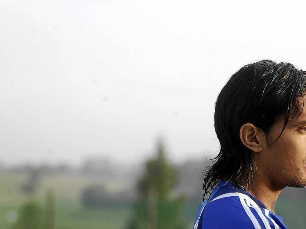 Abel Aguilar se ha convertido en una futbolista capital en el entramado táctico del Real Zaragoza.