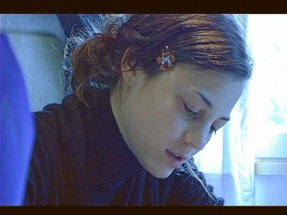 Leonor Watling, en 'Imperfection', documental sobre Marlango que realizó Javier Calvo en 2005.
