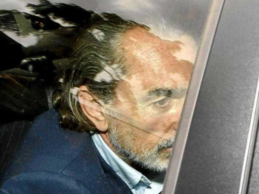 Francisco Correa, el pasado abril, antes de declarar ante el Tribunal Superior de Justicia madrileño.