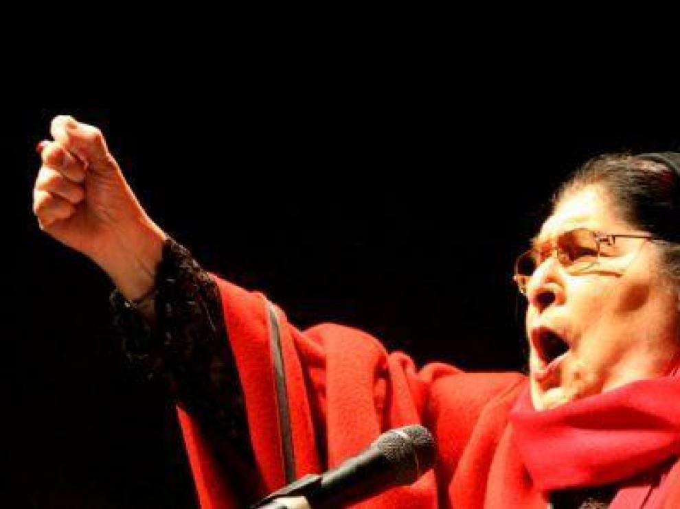 Muere la cantante argentina Mercedes Sosa