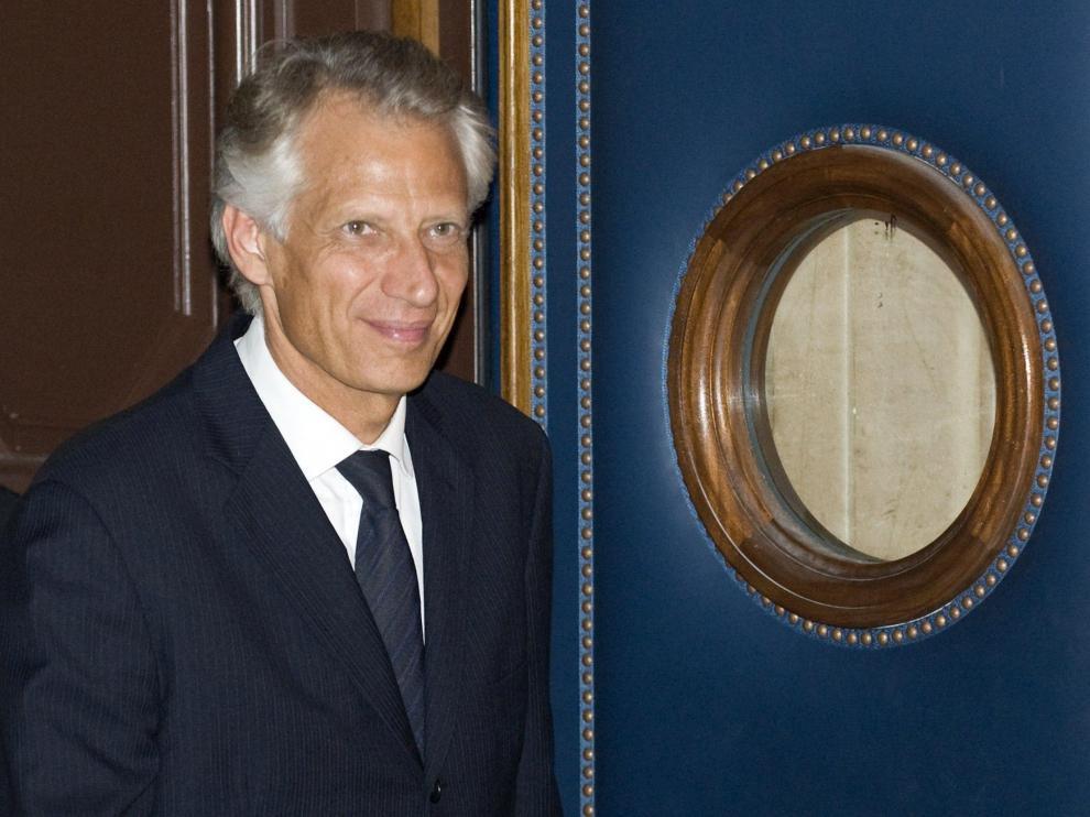 El ex primer ministro francés Dominique de Villepin