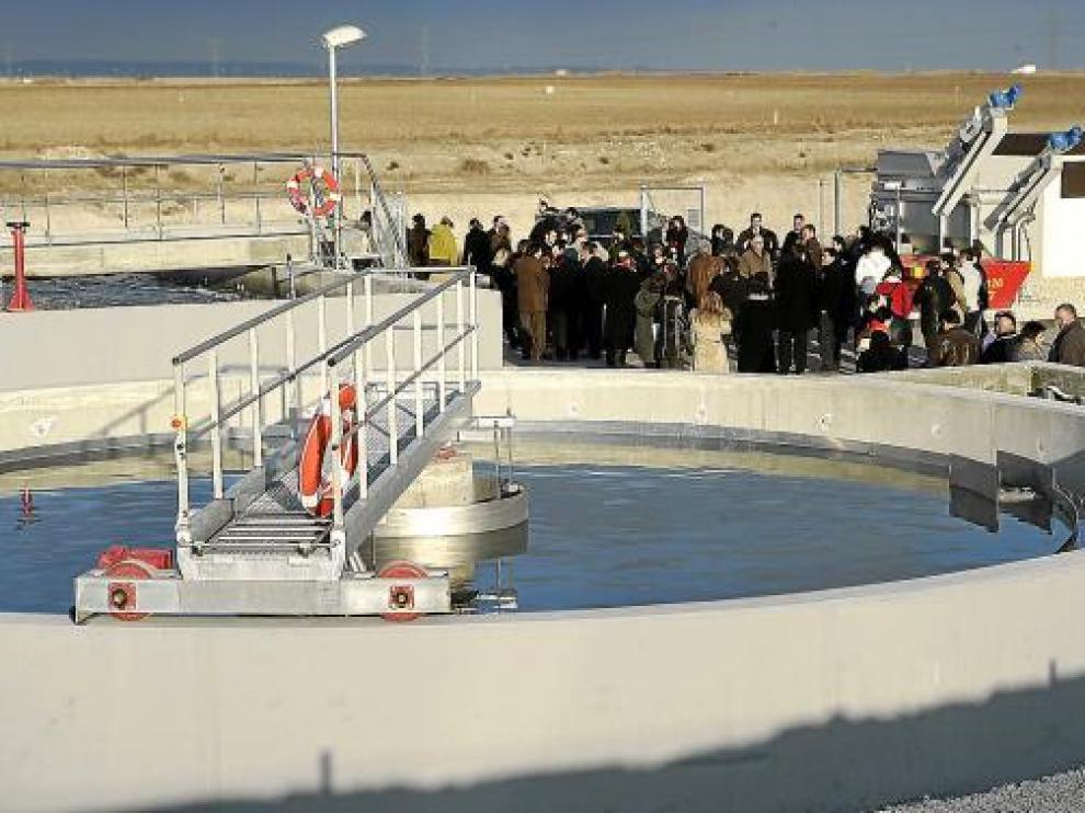 Inauguración en Bujaraloz en diciembre de 2007