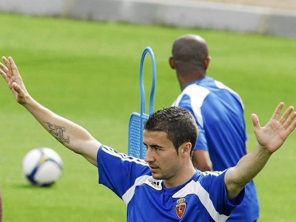 Gabi, en la Ciudad Deportiva.