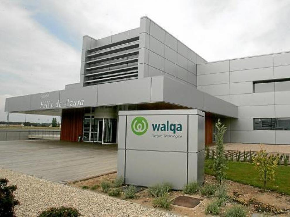 La empresa está ubicada en el edificio Félix de Azara de Walqa