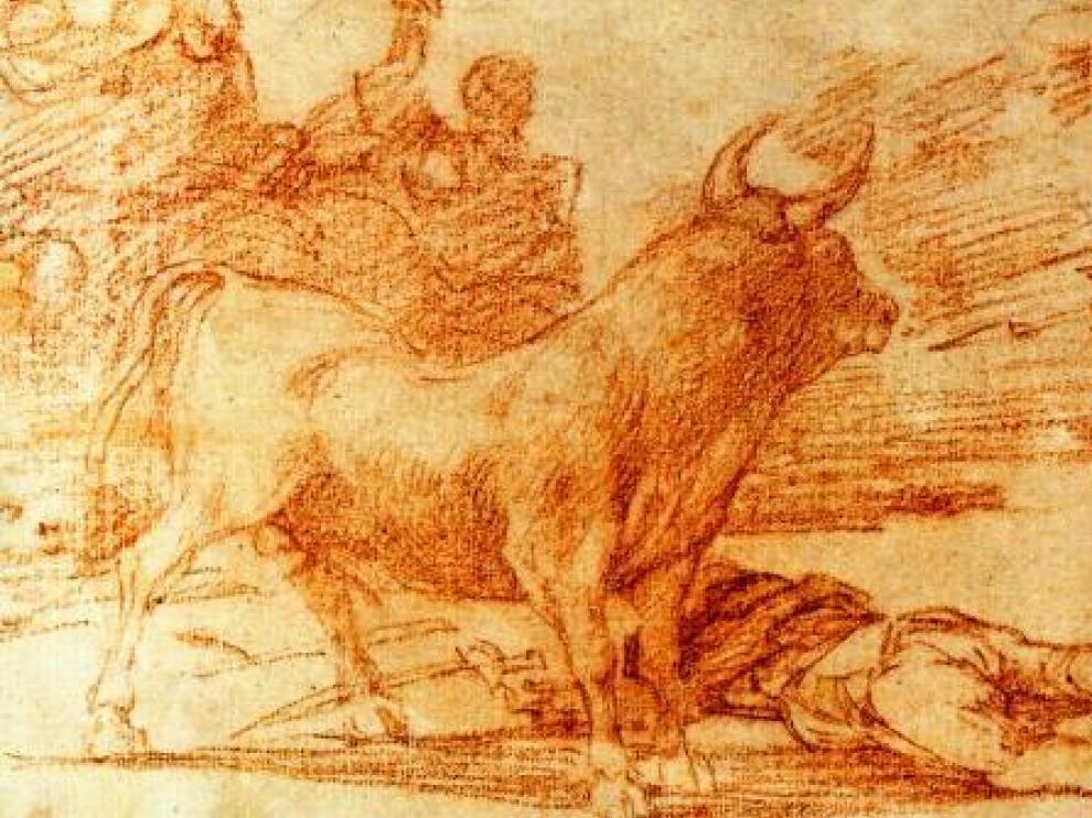 'Desjarrete de la canalla con lanzas, medias lunas, banderillas y otras armas', de autoría anónima.