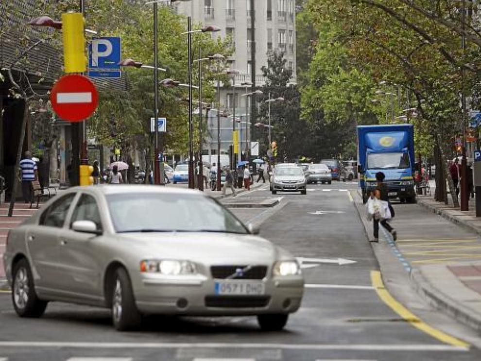 La ampliación de las aceras es el aspecto más destacado de la reforma del paseo de las Damas.