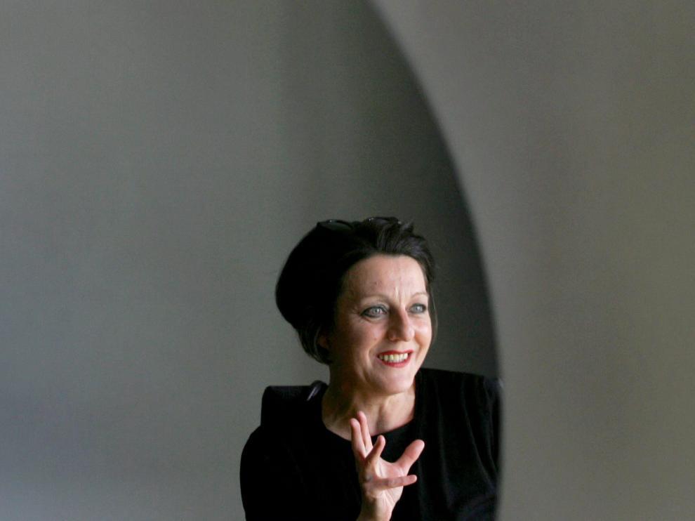 La escritora Herta Müller