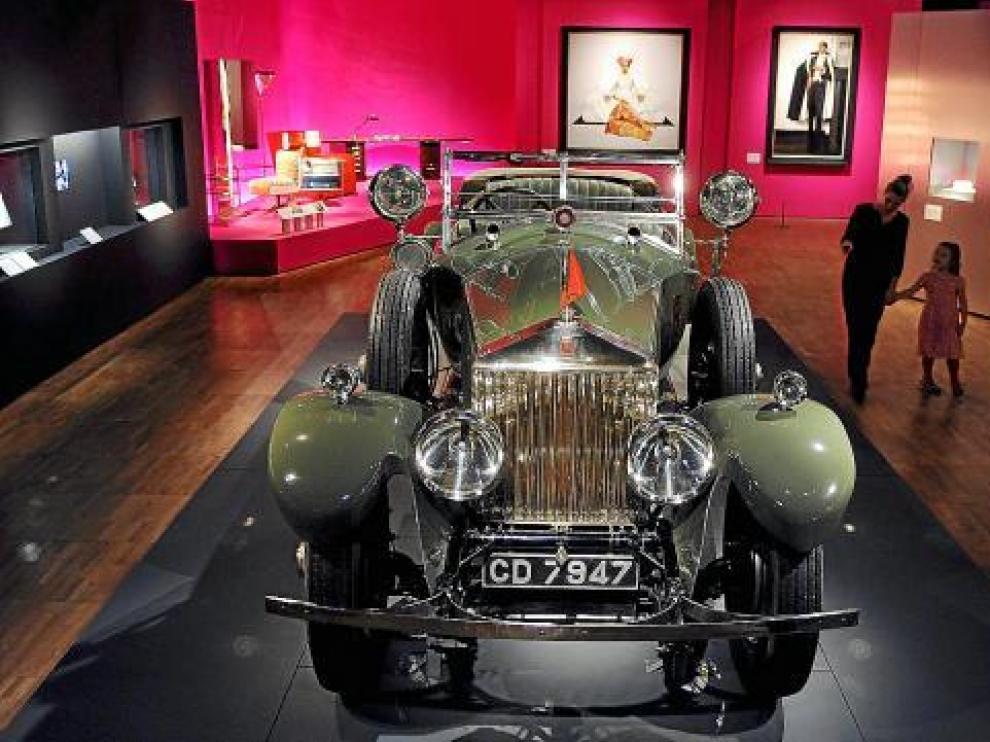 Un lujoso Rolls Royce Phantom, que formó parte del parque móvil de los marajás de la India.