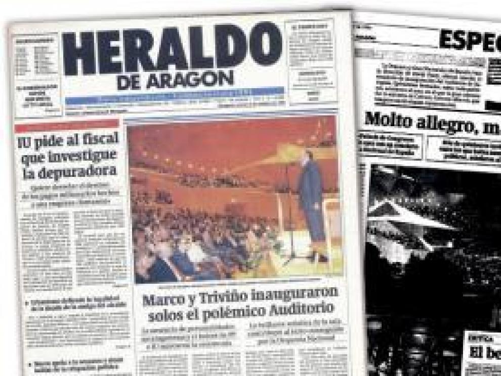 El periódico narró la historia del Auditorio.