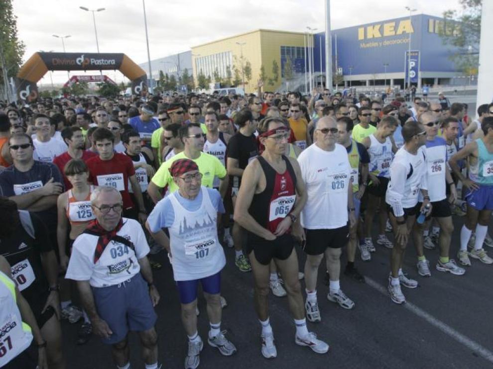 En la carrera de ayer participaron atletas de todas las edades.