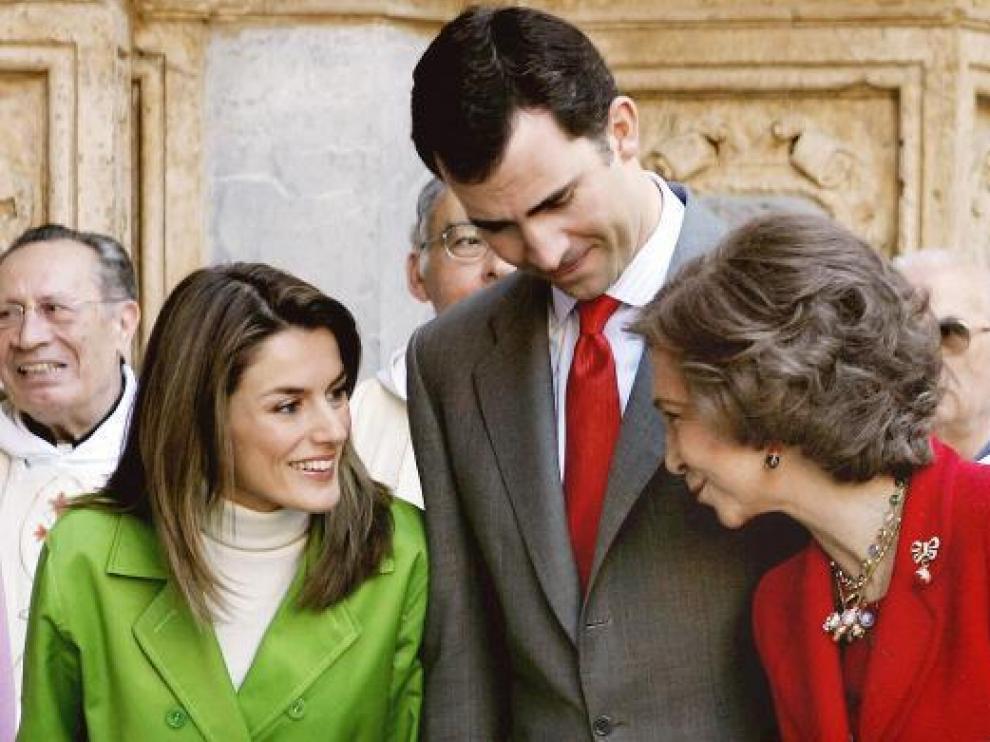 Los Príncipes de Asturias y la reina Sofía serán protagonistas de programas televisivos en 2010.