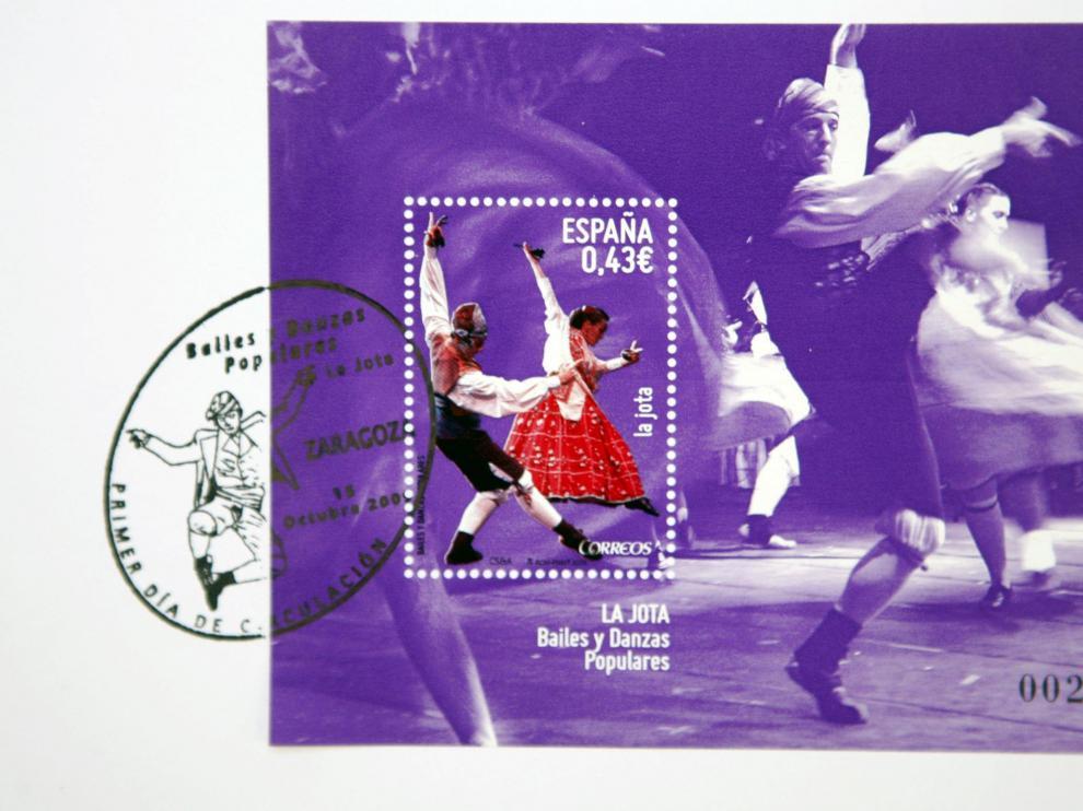 El nuevo sello dedicado a la jota
