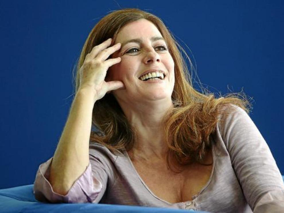 La escritora Ángeles Caso, después de ganar el Premio Planeta con su novela 'Contra el viento'