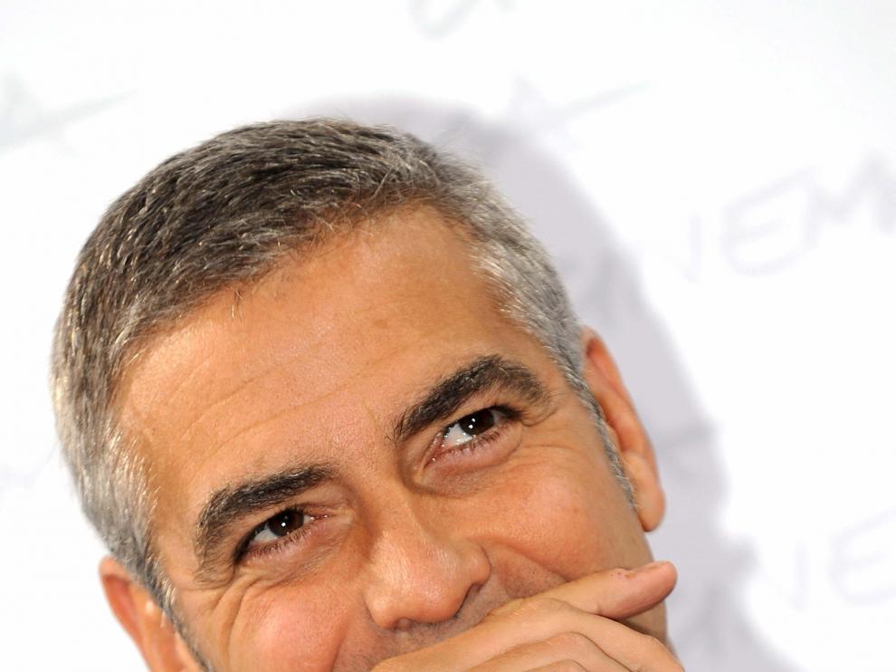El actor Gerorge Clooney